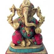 Estátua Ganesha Bronze